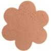 Metal Blank 24ga Copper Flower 34mm No Hole 9pcs